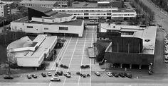 Aalto Centre Seinäjoki. Alvar Aalto's architecture ensemble.