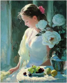 SWAN LAKE: VLADIMIR VOLEGOV - Russian Figurative Painter