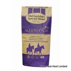 Allen Page Old Faithful rsquo s Special Blend 20kg Allen Page Old Faithful rsquo s Special Blend helps keep veterans full of vitality by using premium quality, easily digestible ingredients which help maintain condition.