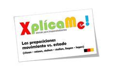 """Lección #70 """"Las preposiciones movimientos Vs. Estado""""... Mas material: www.aleman-para-hispanohablantes.com"""