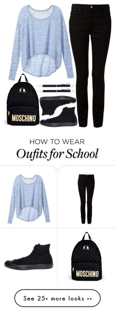 """to school"" by ecem1 on Polyvore"