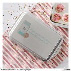Milk and Cookies Cake Pan