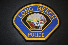 Long Beach Police Patch, Los Angeles County, California (Current 1951 - 3rd Issue)