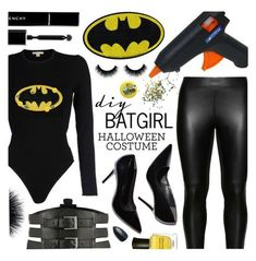 A fashion look from October 2015 featuring Michael Kors sweaters, Studio leggings and Kiki de Montparnasse belts. Browse and shop related looks. Batgirl Costume Kids, Batgirl Halloween Costume, Batgirl Party, Diy Superhero Costume, Superhero Costumes Female, Dc Batgirl, Halloween Kostüm, Costumes For Women, Batgirl Mask