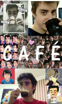 Alan, Cellbit e Felps Amam café ❤