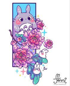 Hayao Miyazaki, Cute Anime Chibi, Kawaii Anime, Digital Art Anime, Anime Art, Studio Ghibli, Disney Princess Drawings, Cute Kawaii Drawings, Cat Stickers