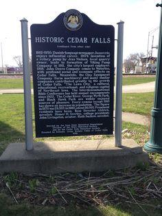 Historic Cedar Falls (Cedar Falls, March 2016)