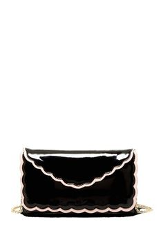 RED Valentino Scallop Patent Shoulder Bag by Non Specific on @HauteLook