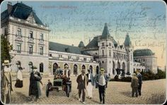 Timisoara - Vechea gara de Nord - antebelica