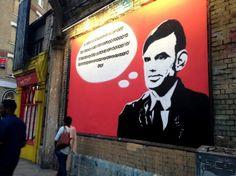 Street art da decifrare per le strade di Londra, l'invito geek al Campus Party