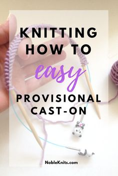 Knitting, Tips and Stitches on Pinterest