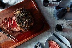 Leg of Lamb with Garlic Sauce recipe on Food52