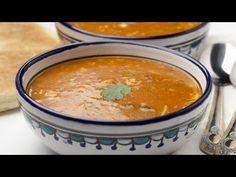 اسرع واطيب حريرة مغربية في دقائق recette harira marocaine - YouTube
