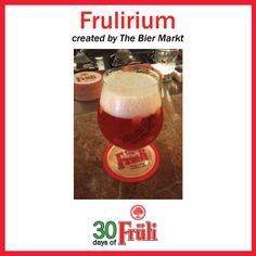 Beer Cocktail: Fruli mixed with Delirium Tremens -created by The Bier Markt Summer Cocktails, Beverages, Beer, Favorite Recipes, Create, Day, Food, Root Beer, Drinks