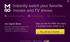 2 Free Movies - MGo Free Subscriptions, Coupon Codes, Itunes, Movies And Tv Shows, Coding, Programming