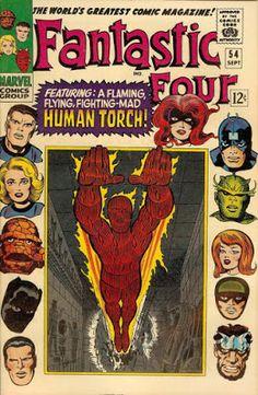 Fantastic Four #54