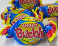 Anglo Bubble Gum - used to love these - almost jaw aching to get it going mind!
