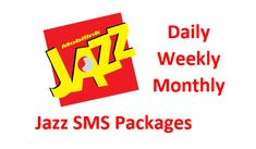 Jazz telecommunication network offered Jazz daily SMS packages, Jazz week SMS packages, and Jazz monthly SMS packages code of activation and deactivation along with complete detail of packages rate. Sms Message, Messages, Massage Packages, 4g Internet, Internet Packages, Jazz, Packaging, Detail, Jazz Music