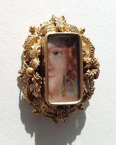 Antique-Regency-Eye-Portrait-Miniature-circa-1820-Highly-Collectible