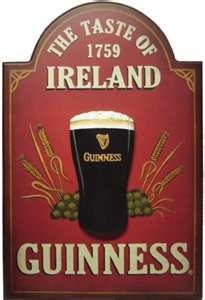 The Guinness trucks were everywhere...