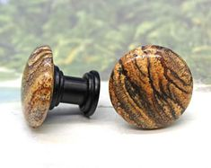 Knobs, Stone Knobs, Cabinet Knobs, Picture Jasper Cabinet Knobs - Set of Kitchen cabinet knobs, Recycled Furniture, Unique Furniture, Nature Words, Kitchen Cabinet Knobs, Small Cabinet, Flat Head, Jasper Stone, Drawer Knobs, Earth Tones