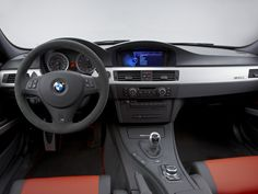 E90 BMW M3 CRT dashboard
