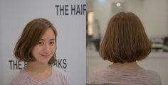烫发其实最适合懒惰打理头发的妹子好吗~