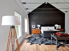 Designer Mark Zeff's Black Barn Retreat