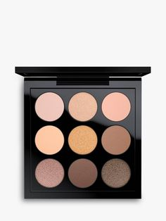 Buy MAC Eyeshadow Palette x Amber from our Makeup range at John Lewis & Partners. Mac Eyeshadow Palette, Peach Eyeshadow, Neutral Eyeshadow, Eyeshadow For Brown Eyes, Makeup Palette, Copper And Pink, Pink And Gold, Bride Nails, Beauty Bar