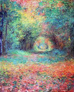 美術館めぐり: 印象派を超えて -点描の画家たち- Impressionist Paintings, Landscape Paintings, Painter Artist, Watercolor Canvas, European Paintings, Art Impressions, Acrylic Art, New Art, Design Art