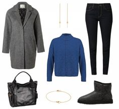 #Herbstoutfit Blue Motion ♥ #outfit #Damenoutfit #outfitdestages #dresslove