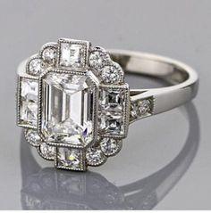 Art Deco ring.. what? I like it...shut up.