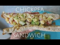How To Make an Easy Vegan Meal: Chickpea Sandwich