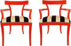 These might be my most favorite chairs in the world...Forgive me Lord, but I am lusting for these chairs