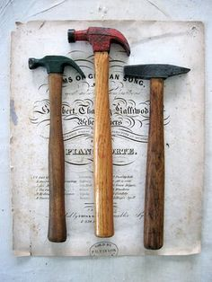 not sure why but im in love with old hammers...