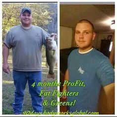 It Works 90 Day Challenge - Greens, ProFit and Fat Fighters