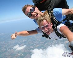 Tandem skydiving...definitely doing this one day!