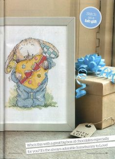 Somebunny to Love A Sweet Surprise The World of Cross Stitching Issue 190 June 2012 Saved