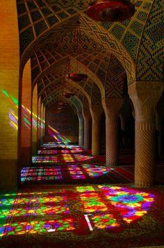 Patterns upon patterns; fantastic colours