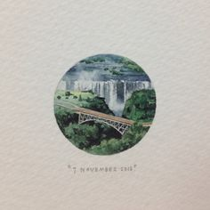Day 310 : Victoria Falls, Zimbabwe. (For Mike, on his birthday, from Nicky).