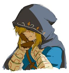 Link d don't cry you'll make me cry - tackles Link in hugs-