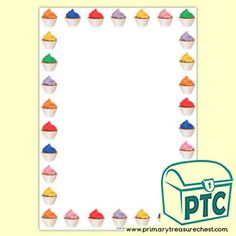 Cake Shop Role Play Resources - Primary Treasure Chest Teaching Activities, Teaching Ideas, Ourselves Topic, Page Borders, Cake Shop, Role Play, Treasure Chest, Bakery, Foundation