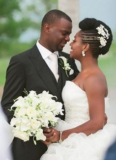 Nigerian Natural Hair Bride BellaNaija Weddings 8: