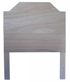 Queen or King size pre-cut headboard ready to upholster - choose your height! Free Shipping + Made in USA.