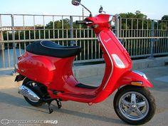 Vespa scooter