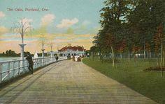 Oaks Park Openned in 1905, Portland, Oregon