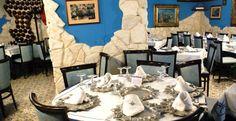 Ristorante La  Grotta Azzurra UBAIS, sala con aria condizionata. www.ubais.it