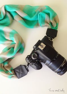 Home Sweet Ruby: DIY :: Scarf Camera Strap