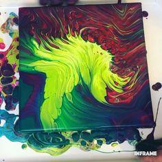 Fluid Acrylic Painting Video Acrylic Pour Painting Acrylic acrylic pour painting for beginners fluid Painting Video Acrylic Pouring Techniques, Acrylic Pouring Art, Acrylic Art, Painting Techniques, Flow Painting, Pour Painting, Painting Videos, Diy Painting, Fluid Acrylics