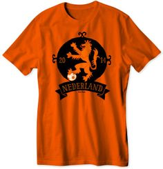 World Cup Netherlands T-Shirt By Zoo-Tees #t-shirt #netherlands